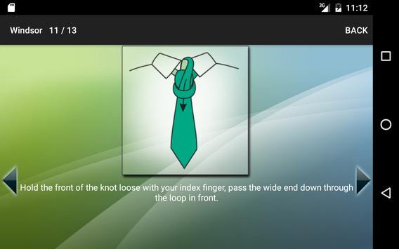 Como fazer um nó de gravata imagem de tela 7