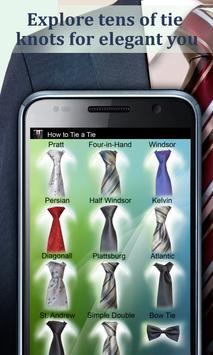 How to Tie a Tie Pro captura de pantalla 6