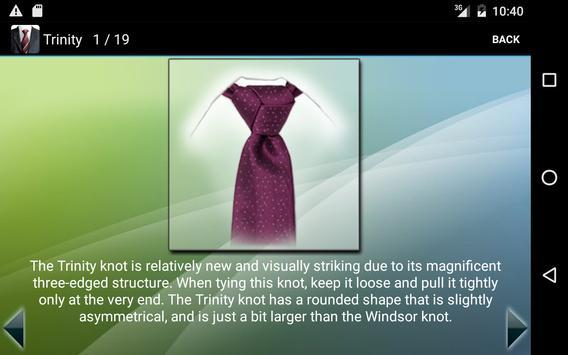 How to Tie a Tie Pro captura de pantalla 8
