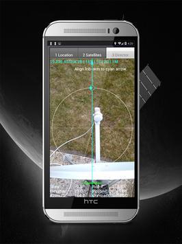 Satfinder 2018 pro - Dish Pointer-Satellite finder screenshot 5