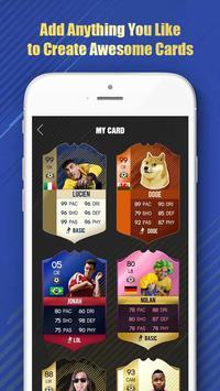 FUT 18 Card Creator apk screenshot