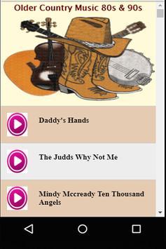 Older Country Music 80s & 90s apk screenshot