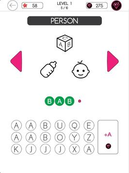 3 Icons 1 Word - Mind Puzzle screenshot 12