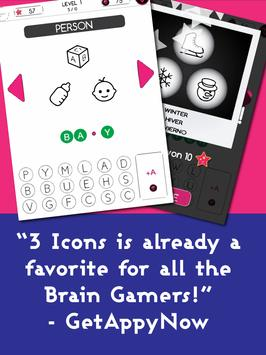 3 Icons 1 Word - Mind Puzzle screenshot 8