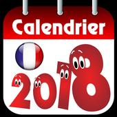 World Calendar 2018, Greeting Card icon