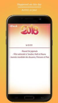 World Calendar 2018, Greeting Card screenshot 4