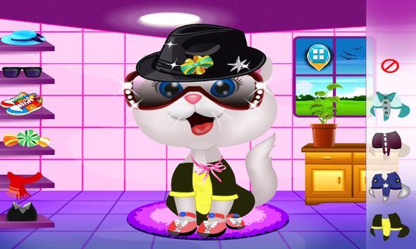 Cat Beauty Salon apk screenshot
