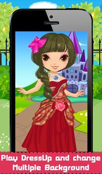 Charming Princess Dressup apk screenshot