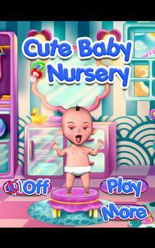 Cute Baby Nursery poster