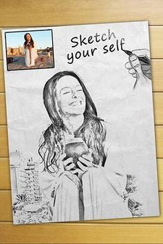 Photo Sketch poster
