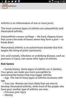 Arthritis Help apk screenshot