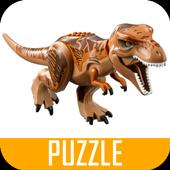 Sliding Puzzle Lego Jurassic World icon