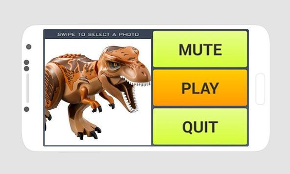 Sliding Puzzle Lego Jurassic World apk screenshot