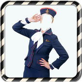 Air Hostess Photo Suit Editor icon
