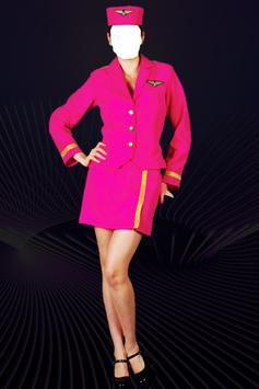 Air Hostess Photo Suit Editor apk screenshot