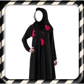 Dubai Woman Abayas Photo Suit icon