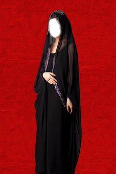 Dubai Woman Abayas Photo Suit apk screenshot