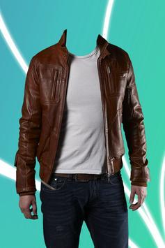 Leather Jacket Photo Suit apk screenshot