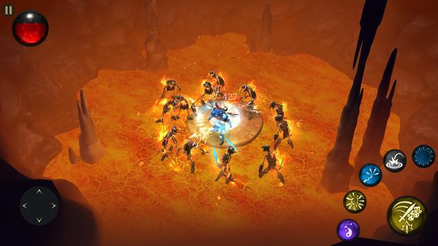 Bladebound: hack and slash RPG apk screenshot