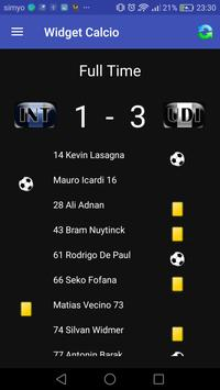 Widget Serie A screenshot 1