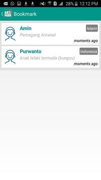 Arti Nama Terlengkap apk screenshot