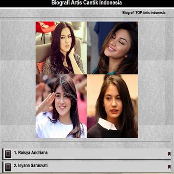 Artis Cantik Indonesia poster