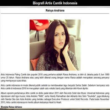 Artis Cantik Indonesia screenshot 2