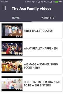 The Ace Family Popular Videos HD screenshot 2