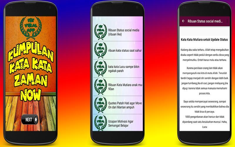 Arti Singkatan Kata Kata Kids Jaman Now Für Android Apk