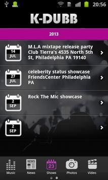 K-Dubb Music screenshot 1