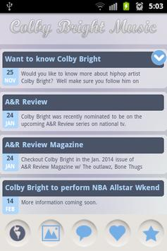 Colby Bright Music screenshot 3