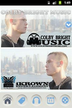 Colby Bright Music poster