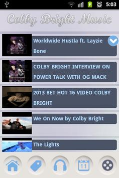 Colby Bright Music screenshot 2