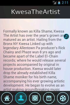 Kwesa The Artist Experience screenshot 5