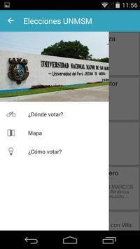 Elecciones UNMSM 2016 poster