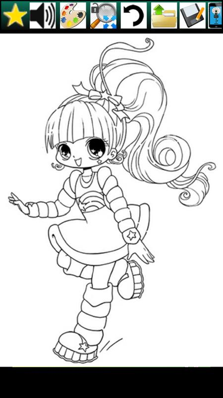 Coloring Book Anime Amp Cuties APK Download