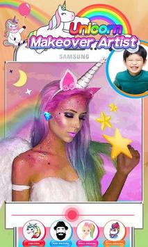 Unicorn Makeup Artist - Rainbow Salon screenshot 7