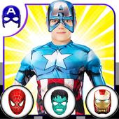 Avenger Superheroes Face Changer icon
