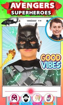 Avenger Superheroes Face Changer poster