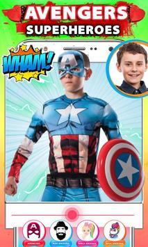 Avenger Superheroes Face Changer screenshot 1