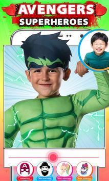 Avenger Superheroes Face Changer screenshot 2