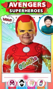 Avenger Superheroes Face Changer screenshot 7