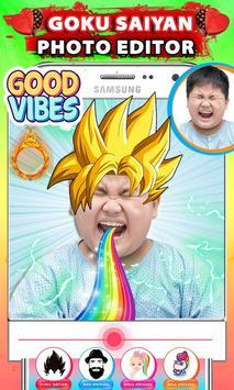 Goku Dragon Hero Photo Editor screenshot 2