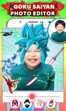Goku Dragon Hero Photo Editor screenshot 4