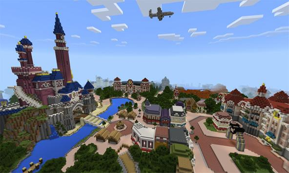 Map disney world for mcpe apk download free arcade game for map disney world for mcpe poster gumiabroncs Images