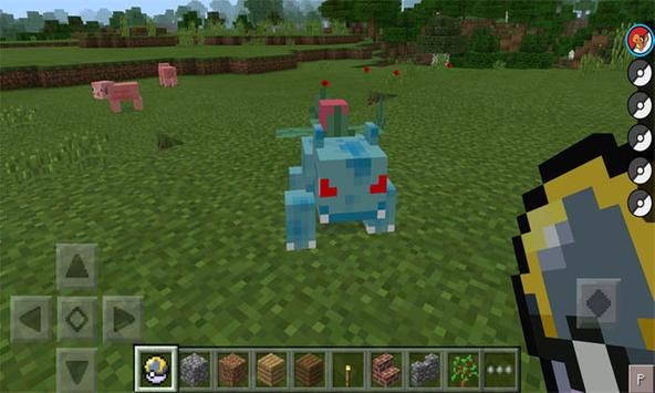 Mod Pixelmon for MCPE apk screenshot