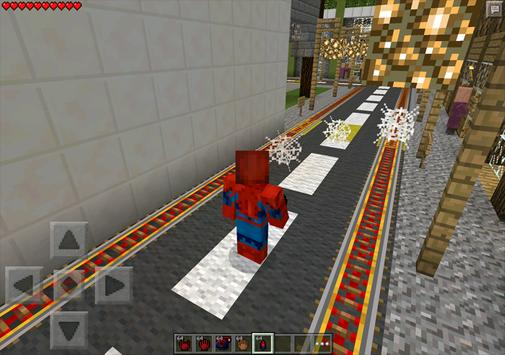 Mod Spider Man for MCPE poster