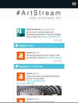 ArtStream poster