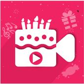 Birthday Slideshow Video Maker With Music icon