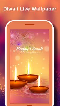Happy Diwali HD Live wallpaper poster